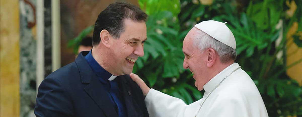 Àngel Fernández Artime e Papa Francesco