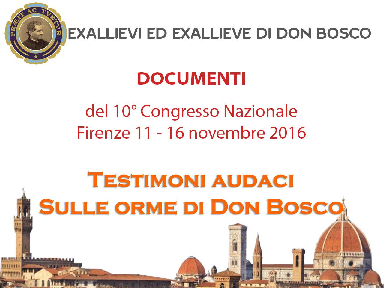 Documenti 10° Congresso
