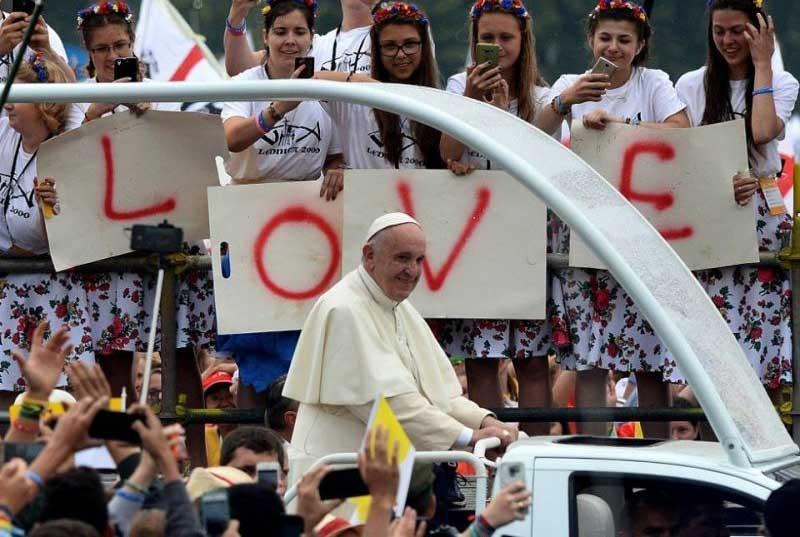 Messaggio del Papa per la Giornata Mondiale della Gioventù 2018